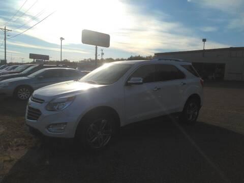 2016 Chevrolet Equinox for sale at Superior Auto of Negaunee - Pepp Motors in Marquette MI