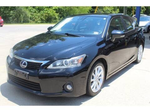2013 Lexus CT 200h for sale at Inline Auto Sales in Fuquay Varina NC