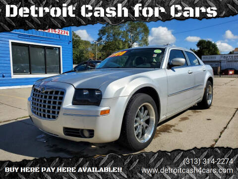 2008 Chrysler 300 for sale at Detroit Cash for Cars in Warren MI