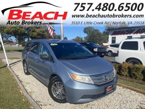 2011 Honda Odyssey for sale at Beach Auto Brokers in Norfolk VA