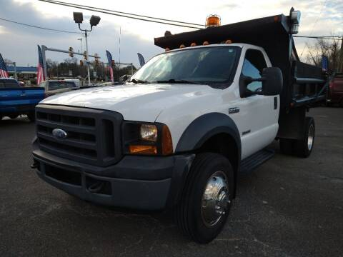 2007 Ford F-450 Super Duty for sale at P J McCafferty Inc in Langhorne PA