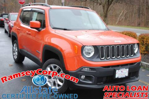 2015 Jeep Renegade for sale at Ramsey Corp. in West Milford NJ