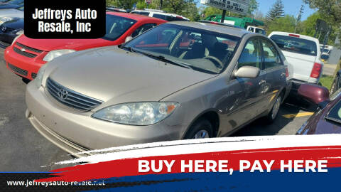 2005 Toyota Camry for sale at Jeffreys Auto Resale, Inc in Clinton Township MI