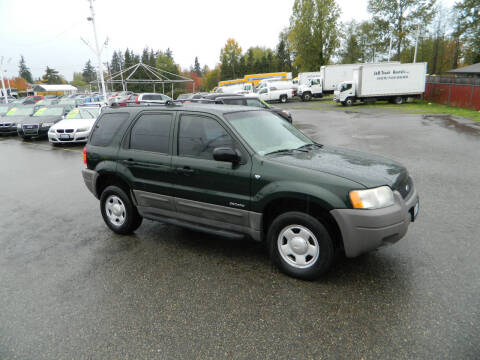 2002 Ford Escape for sale at J & R Motorsports in Lynnwood WA