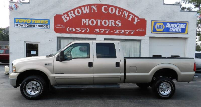 2001 Ford F-250 Super Duty for sale at Brown County Motors in Russellville OH