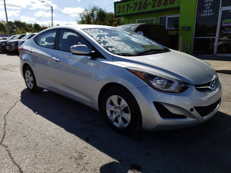 2016 Hyundai Elantra for sale at Empire Auto Group in Indianapolis IN