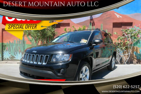 2014 Jeep Compass for sale at DESERT MOUNTAIN AUTO LLC in Tucson AZ