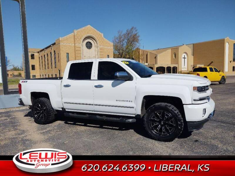 2017 Chevrolet Silverado 1500 for sale at Lewis Chevrolet Buick of Liberal in Liberal KS