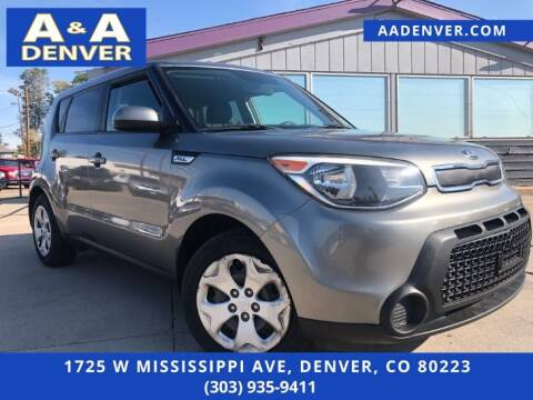 2015 Kia Soul for sale at A & A AUTO LLC in Denver CO