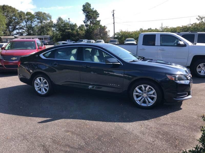 2017 Chevrolet Impala for sale at Dorsey Auto Sales in Anderson SC