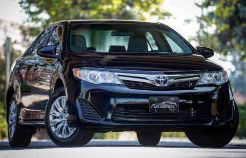2012 Toyota Camry for sale at MS Motors in Portland OR