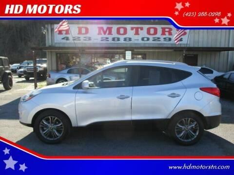 2014 Hyundai Tucson for sale at HD MOTORS in Kingsport TN