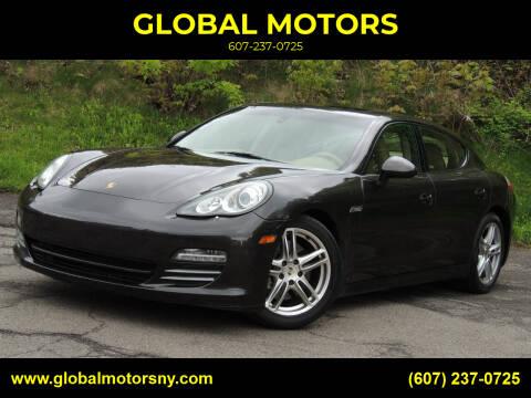 2012 Porsche Panamera for sale at GLOBAL MOTORS in Binghamton NY