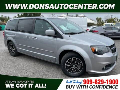 2015 Dodge Grand Caravan for sale at Dons Auto Center in Fontana CA