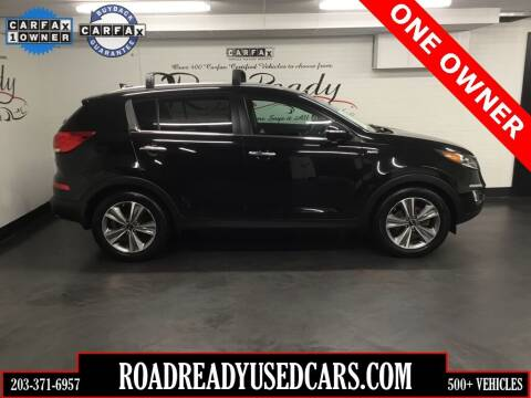 2014 Kia Sportage for sale at Road Ready Used Cars in Ansonia CT
