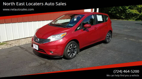 2015 Nissan Versa Note for sale at North East Locaters Auto Sales in Indiana PA