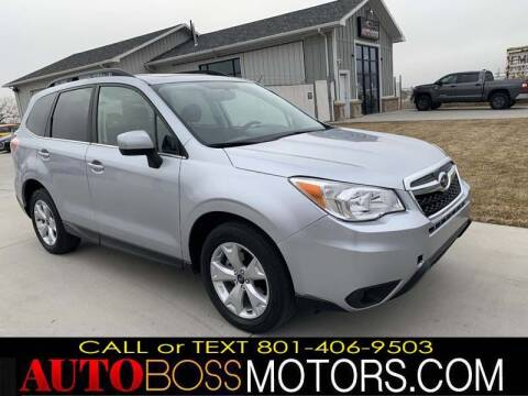 2015 Subaru Forester for sale at Auto Boss in Woodscross UT