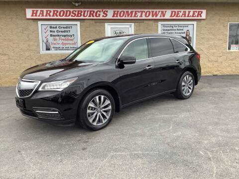2016 Acura MDX for sale at Auto Martt, LLC in Harrodsburg KY