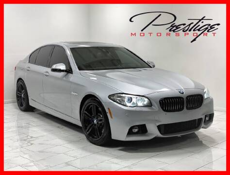 2015 BMW 5 Series for sale at Prestige Motorsport in Rancho Cordova CA