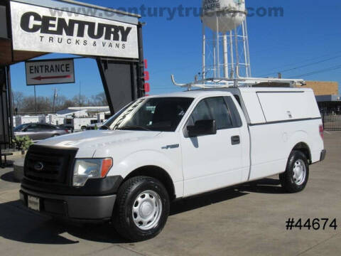 2010 Ford F-150 for sale at CENTURY TRUCKS & VANS in Grand Prairie TX