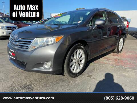 2011 Toyota Venza for sale at Auto Max of Ventura in Ventura CA