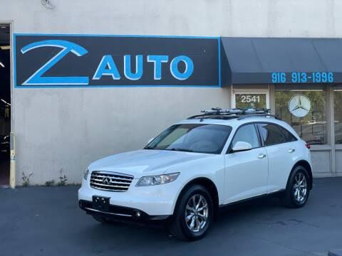 2007 Infiniti FX35 for sale at Z Auto in Sacramento CA