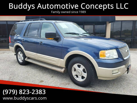 2005 Ford Expedition for sale at Buddys Automotive Concepts LLC in Bryan TX