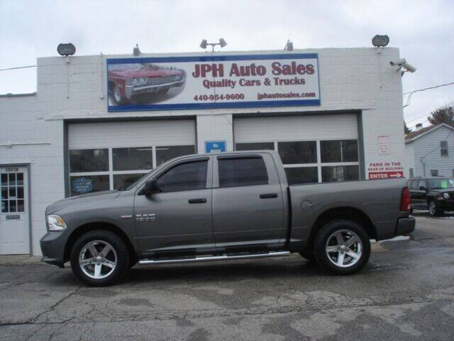 2013 RAM Ram Pickup 1500 for sale at JPH Auto Sales in Eastlake OH