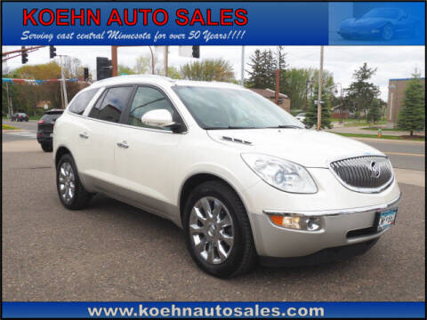 2012 Buick Enclave for sale at Koehn Auto Sales in Lindstrom MN