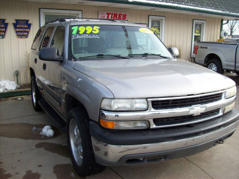 2002 Chevrolet Tahoe for sale at Summit Auto Inc in Waterford PA