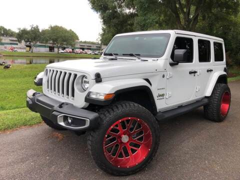 2018 Jeep Wrangler Unlimited for sale at Powerhouse Automotive in Tampa FL