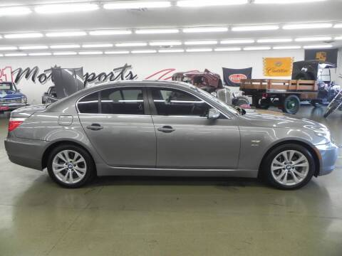 2009 BMW 5 Series for sale at 121 Motorsports in Mt. Zion IL