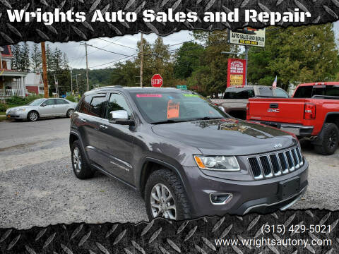 2014 Jeep Grand Cherokee for sale at Wrights Auto Sales and Repair in Dolgeville NY