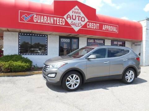 2013 Hyundai Santa Fe Sport for sale at Oak Park Auto Sales in Oak Park MI