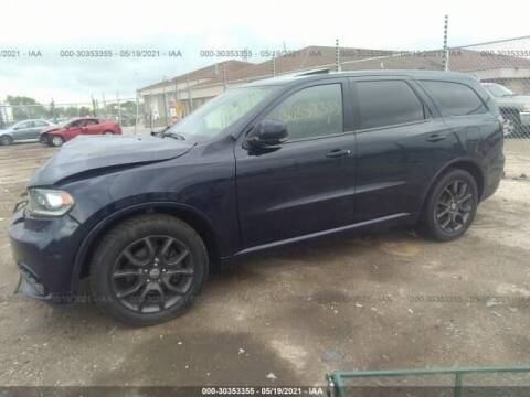2017 Dodge Durango for sale at CousineauCrashed.com in Weston WI