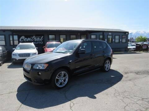 2014 BMW X3 for sale at Central Auto in South Salt Lake UT