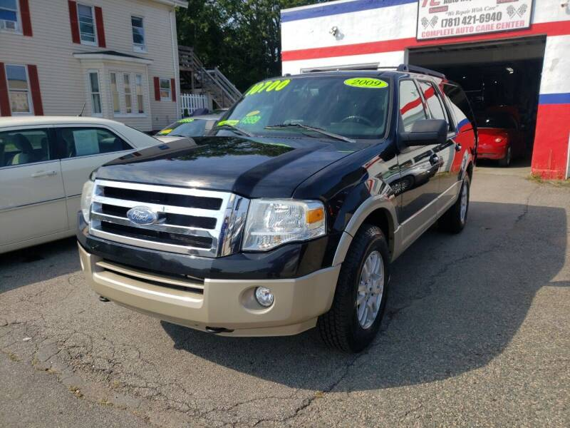 2009 Ford Expedition EL for sale at TC Auto Repair and Sales Inc in Abington MA