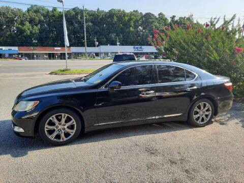 2008 Lexus LS 460 for sale at PIRATE AUTO SALES in Greenville NC
