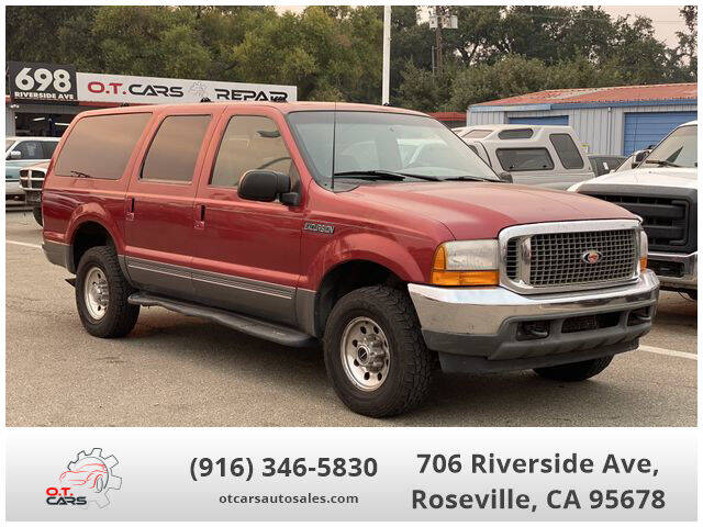 2001 Ford Excursion for sale at OT CARS AUTO SALES in Roseville CA