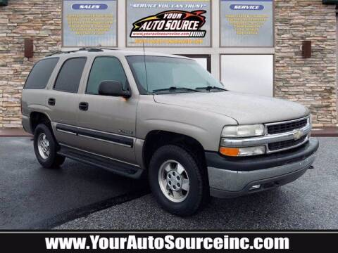 2001 Chevrolet Tahoe for sale at Your Auto Source in York PA
