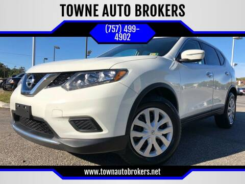 2015 Nissan Rogue for sale at TOWNE AUTO BROKERS in Virginia Beach VA