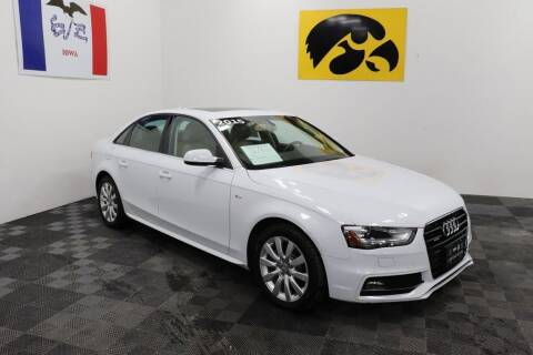 2015 Audi A4 for sale at Carousel Auto Group in Iowa City IA