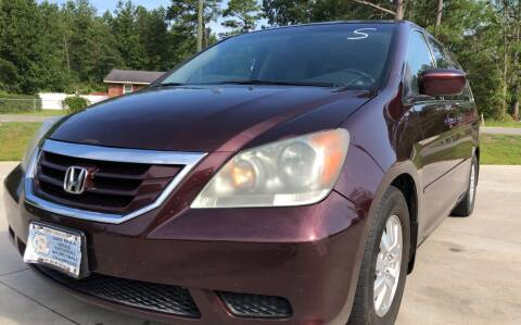 2009 Honda Odyssey for sale at County Line Car Sales Inc. in Delco NC