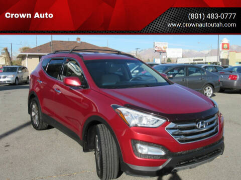 2015 Hyundai Santa Fe Sport for sale at Crown Auto in South Salt Lake City UT