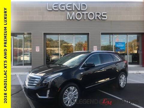 2018 Cadillac XT5 for sale at Legend Motors of Waterford in Waterford MI