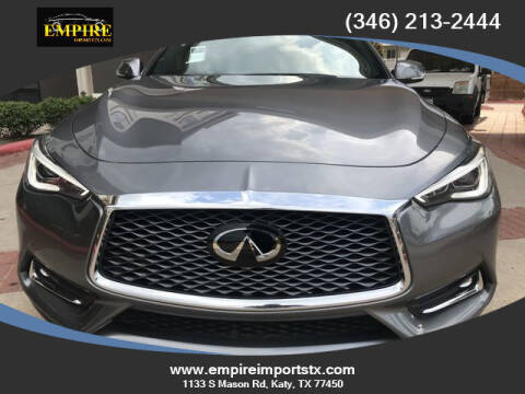 2019 Infiniti Q60 for sale at EMPIREIMPORTSTX.COM in Katy TX