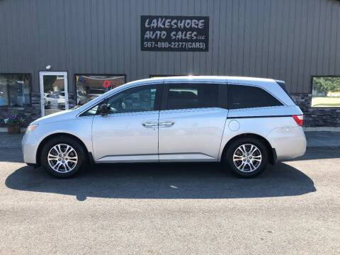 2012 Honda Odyssey for sale at Lakeshore Auto Sales LLC in Celina OH