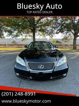 2007 Lexus ES 350 for sale at Bluesky Auto in Bound Brook NJ