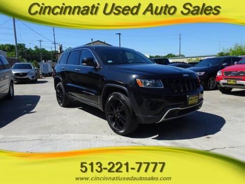 2014 Jeep Grand Cherokee for sale at Cincinnati Used Auto Sales in Cincinnati OH