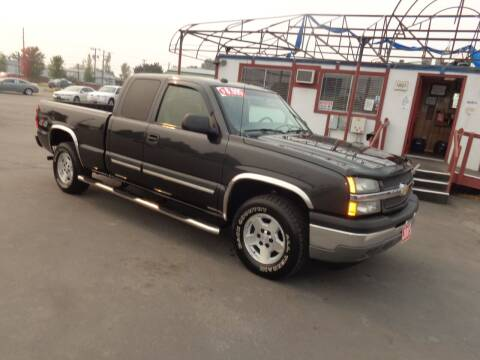 2005 Chevrolet Silverado 1500 for sale at Jim's Cars by Priced-Rite Auto Sales in Missoula MT